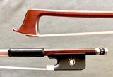 *L. SEIFERT* Viola bow, ebony/silver