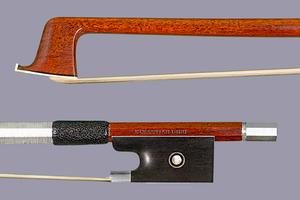 "SEBASTIAN DIRR ""Lukas"" silver violin bow, GERMANY, 61.9 g."