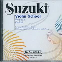 CD: Suzuki Violin School (Preucil), Vol.6 - REVISED