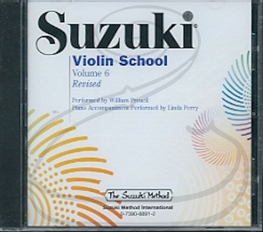 CD: Suzuki Violin School (Preucil), Vol.6 - REVISED