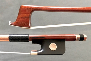 Brazilian C. CHAGAS viola bow, gold-mounted, Brazil