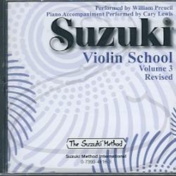 CD: Suzuki Violin School (Preucil), Vol.3 - REVISED