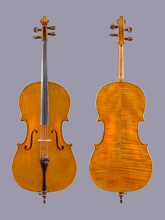 Curt Wunderlich 4/4 cello, 1994