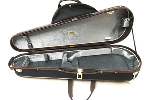 "Musafia Musafia Lievissima 16"" ultra-light dart viola case, no music pocket, Cremona, ITALY"