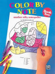 Alfred Music Kaplan: Color By Note - Another Nifty Notespeller, Bk.2, Alfred Music
