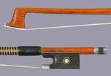 Arcos Brasil Arcos Brasil Pernambuco violin bow, nickel-mounted