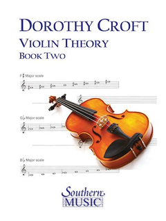 HAL LEONARD Croft, Dorothy: Violin Theory for Beginners Book 2