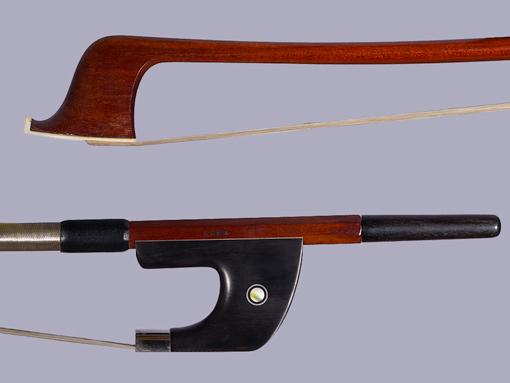 CIRILO SOUSA bass bow, silver, German