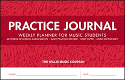 HAL LEONARD Practice Journal