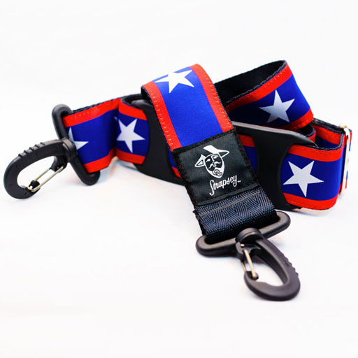Strapsey Old Glory case strap by ''Strapsey''  (sold individually)