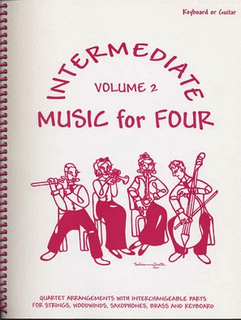 Last Resort Music Publishing Kelley, Daniel: Music for Four Intermediate Vol.2 (piano or guitar)
