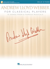HAL LEONARD Lloyd Webber: Andrew Lloyd Webber for Classical Players, 10 Songs from 6 Famous Musicals (cello, piano)