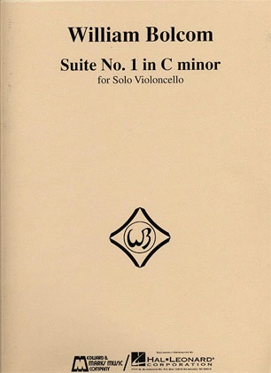 HAL LEONARD Bolcom, William: Suite No. 1 in C minor for Solo Cello
