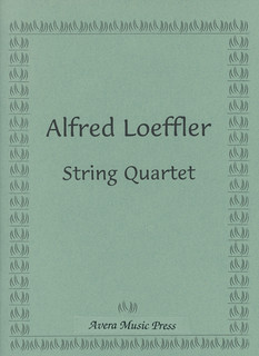Associated Music Publishers, Inc. Loeffler, Alfred: String Quartet (score and parts)