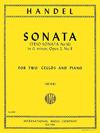 International Music Company Handel, G.F.: Sonata in G minor Op.2 no. 8 (2 Cellos & Piano)