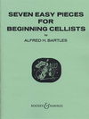 HAL LEONARD Bartles, A.H.: 7 Easy Pieces for Beginning Cellists (cello & piano)