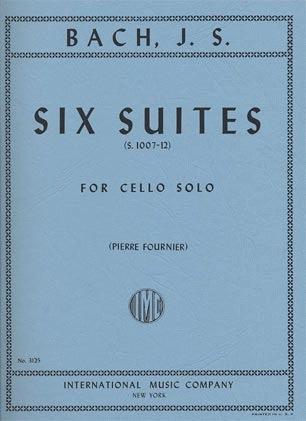 International Music Company Bach (Fournier): Six Suites for Cello Solo (cello) IMC