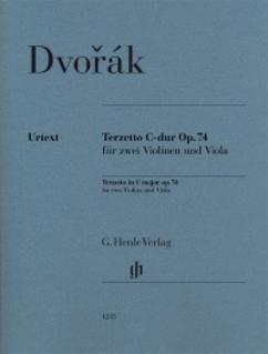 Dvorak, A: Terzetto in C Major op.74 (2 violins and viola) Henle Urtext