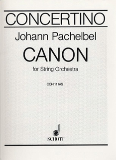 Pachelbel, Johann: Canon, Aug.Set (string quartet)