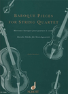 HAL LEONARD Kember, J. (arr): Baroque Pieces for String Quartet (2 violins, viola, and cello)