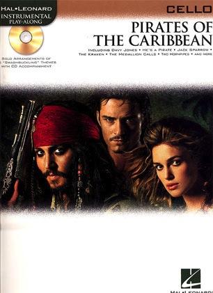 HAL LEONARD Badelt, Klaus: Pirates of the Caribbean (cello & CD)