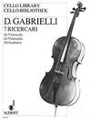HAL LEONARD Gabrielli, D: 7 Ricercari (cello)
