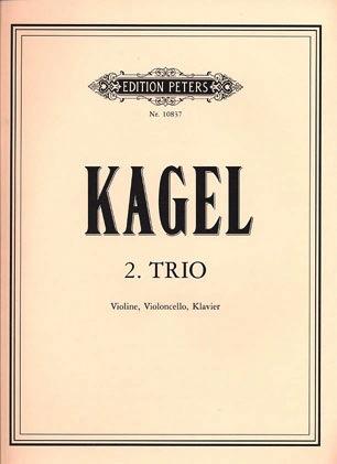 Kagel, Mauricio: Trio  (violin, cello, piano)