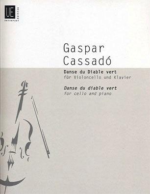 Carl Fischer Cassado, Gaspar: Danse du Diable Vert (Cello & Piano)