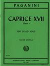 International Music Company Paganini, Niccolo: Caprice No.17 Op.1 (cello)