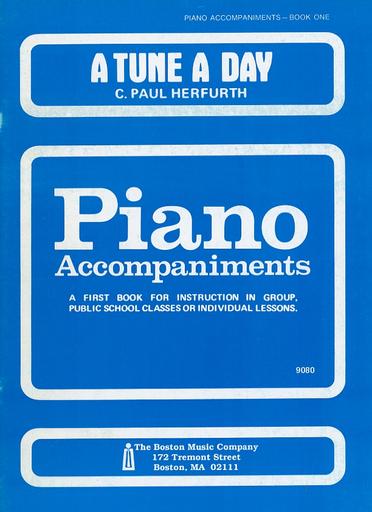 HAL LEONARD Herfurth: A Tune A Day, Vol.1 (piano accompaniment)