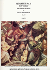 LudwigMasters Hindemith, Paul: String Quartet No.1 in f minor, Op. 10 (parts)