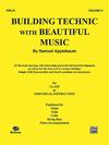 Alfred Music Applebaum: Building Technic with Beautiful Music Vol.3 (cello)