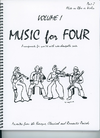 Last Resort Music Publishing Kelley, Daniel: Music for Four Vol.1 Favorites from the Baroque, Classical & Romantic Periods (Violin 2)
