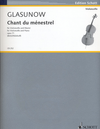 HAL LEONARD Glazunov, Alexander: Chant du Menestrel, Op. 71 (cello & piano)