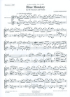 Carl Fischer Bernofsky, L.: Blue Monkey for Bb Clarinet and Violin (violin, and clarinet)