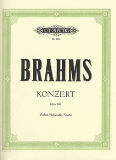 Brahms, J.: Concerto for Violin and Cello, Op.102 - Double Concerto (violin, cello & piano)