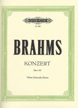 Brahms, J.: Concerto for Violin and Cello, Op.102 - Double Concerto (violin, cello & piano)