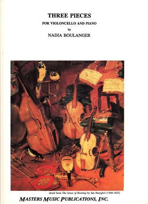 LudwigMasters Boulanger, Nadia: Three Pieces (cello & piano)