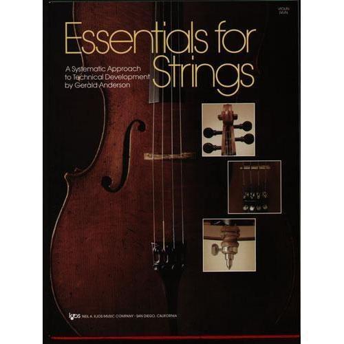 Anderson, Gerald: Essentials for Strings (cello)