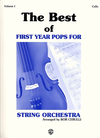 Alfred Music Cerulli, Bob: The Best of First Year Pops (cello)