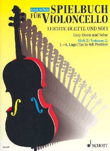 HAL LEONARD Doflein (editor): Easy Duets and Solos, Vol. 2 (2 cellos)