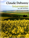 Carl Fischer Debussy, C. (Piatigorsky): Intermezzo (cello & piano)