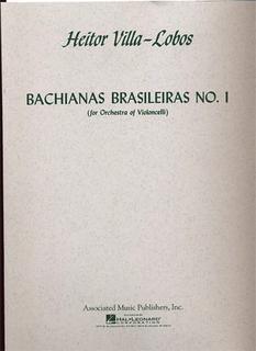 HAL LEONARD Villa Lobos, H.: Bachianas Brasileiras (2 violas & 6 cellos or 8 cellos)