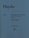 """HAL LEONARD Haydn, F.J. (Feder/Saslav/Kirkendale, ed.): String Quartets Vol. 8, Op. 64, """"Second Tost Quartets"""", urtext (2 violins, viola, and cello)"""