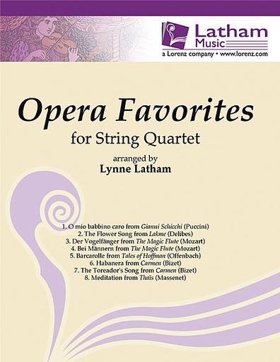 LudwigMasters Latham, L.: Opera Favorites (string quartet)