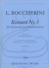 Edition Butorac Boccherini (Von Morgen): Concerto No.3 in G Major, G.480 (cello & piano) Edition Butorac