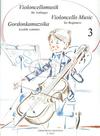 HAL LEONARD Pejtsik, Arpad: Violoncello Music for Beginners Vol.3 (cello & piano), Edito Musica Budapest