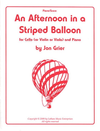 Grier, Jon: An Afternoon in a Striped Balloon (cello & piano)
