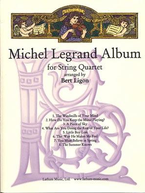 LudwigMasters Legrand, Michel (Ligon) Album (string quartet)