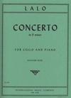 International Music Company Lalo, Edouard (Rose): Concerto in D minor (cello & piano) IMC